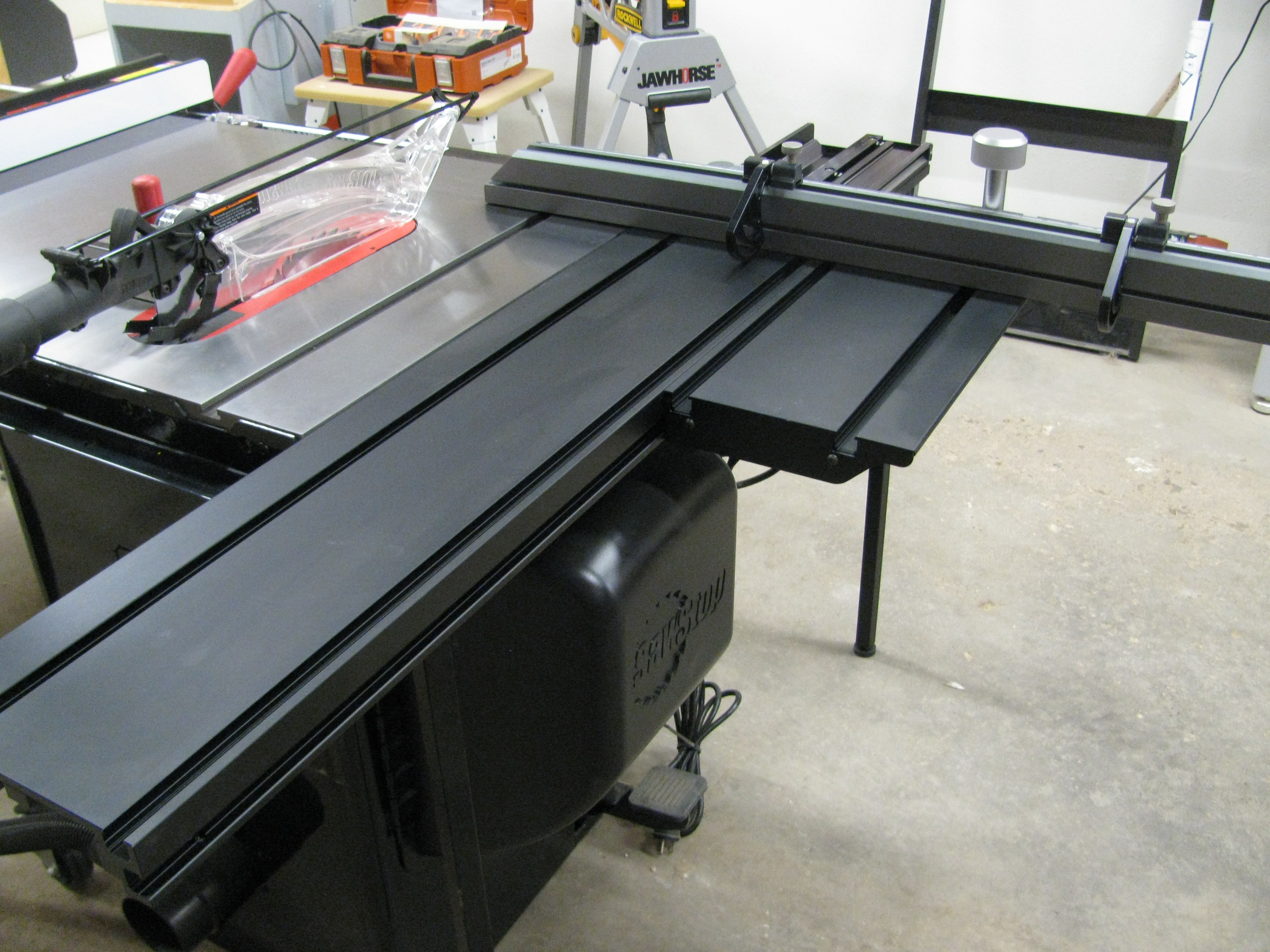 Mounting Sawstop Sliding Table Saw Palmetto For Bph